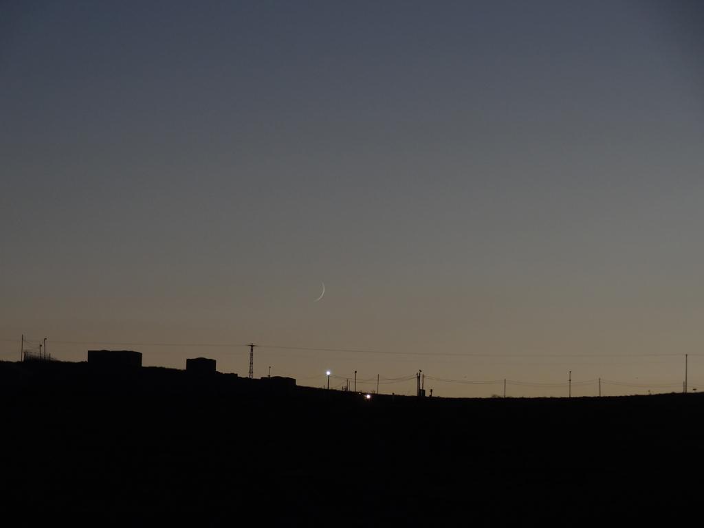New Moon, Kefar Eldad, August 19, 2012
