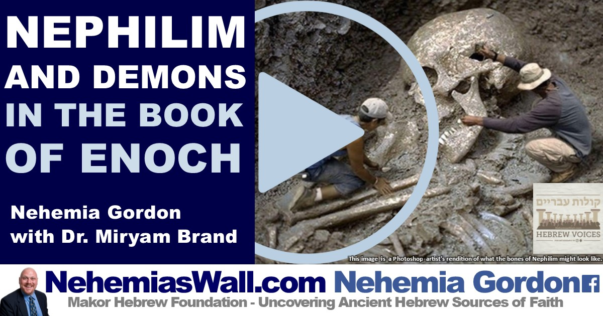 Nephilim and Demons in the Book of Enoch - NehemiasWall com