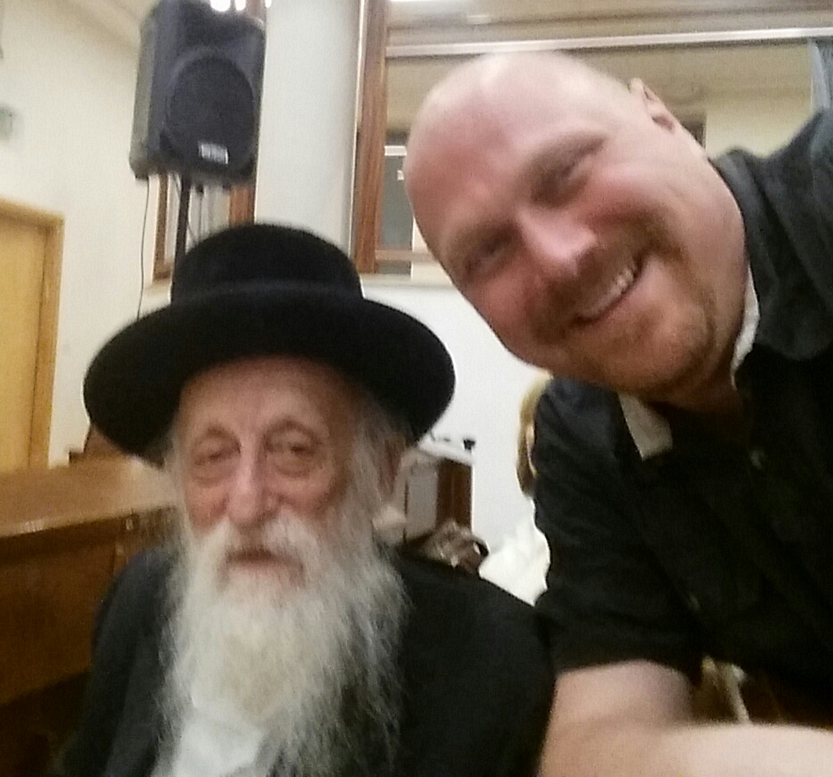 Nehemia Gordon and Rabbi Twerski