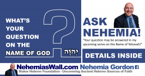 Answer questions about the Name of God